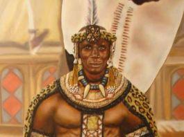 Líder Shaka de la mitología Zulú