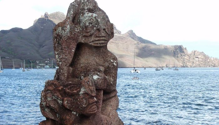 Figura protectora del santuario Ahu