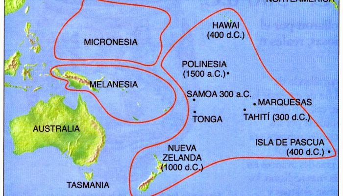 mitología de Oceanía