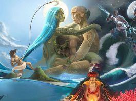 Mito de la creación en la mitología Polinesia