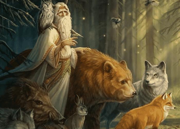 Animales de la mitología Eslava