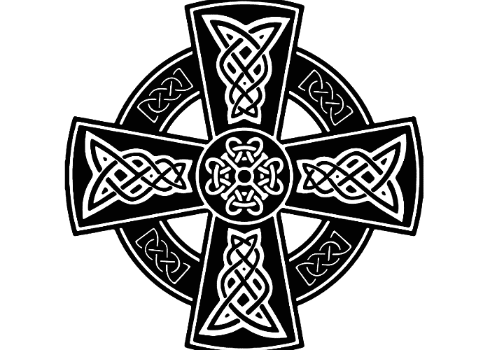 Símbolos de la mitología celta cruz celta