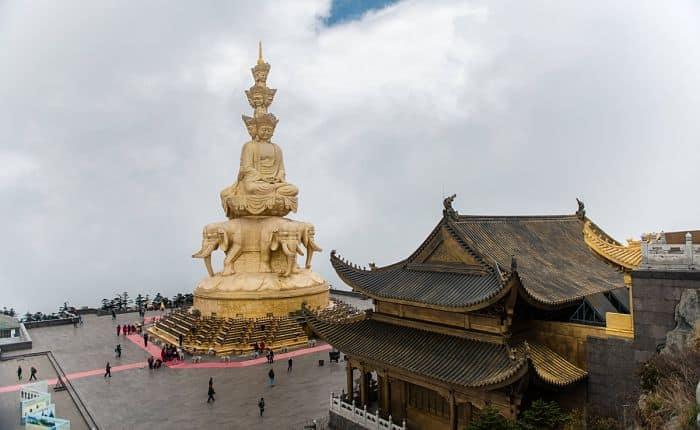 Lugares sagrados de China Emei-shan (峨眉山 Éméi Shān)