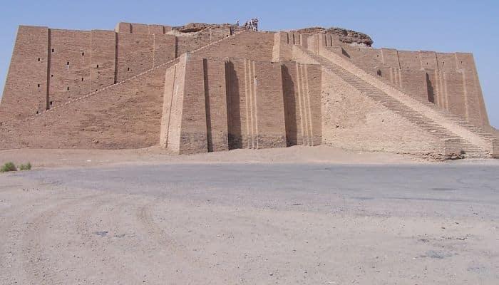 Lugares sagrados de la mitología mesopotámica
