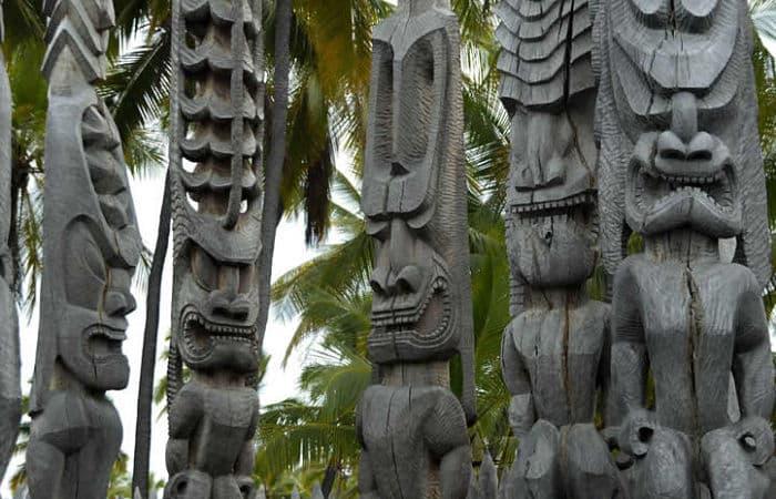 Lugares sagrados de la mitología Hawaiana
