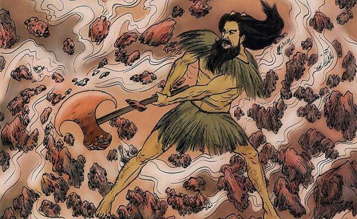 Origen de la mitología China