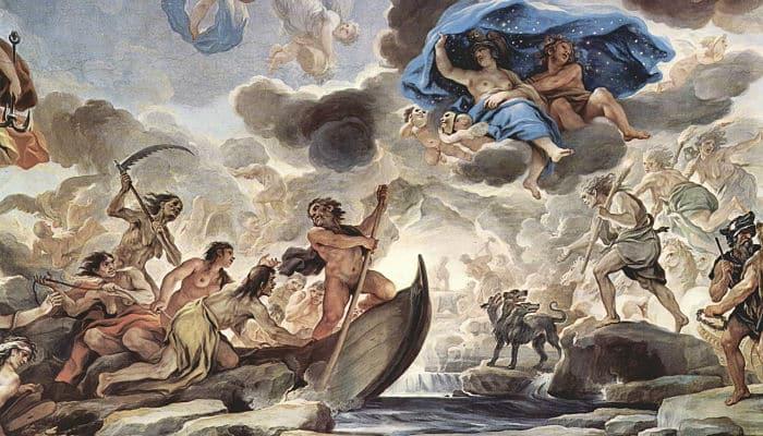 Jueces de los muertos de la mitologia griega