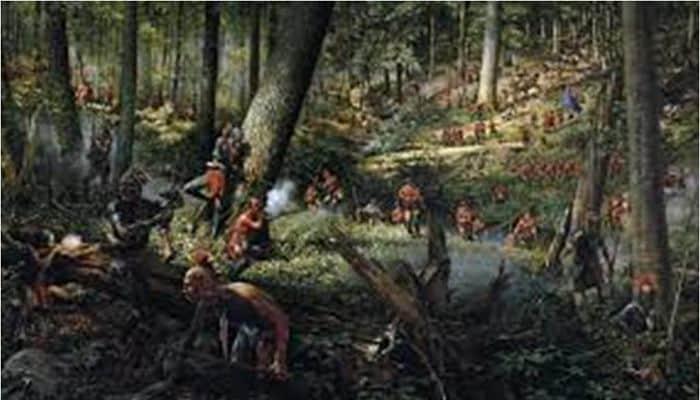 Bosques del este de la mitología de América del Norte