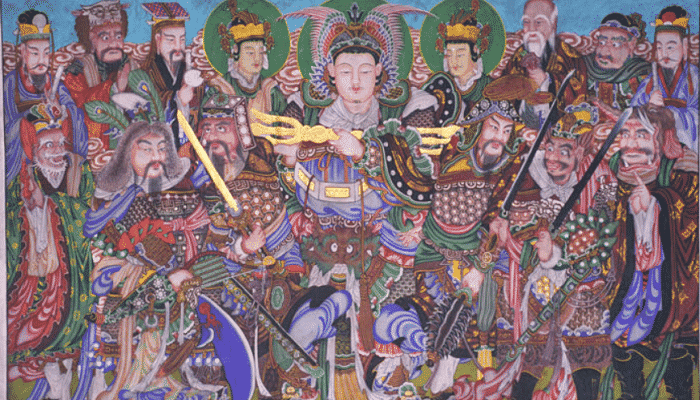Dioses de la mitología Coreana
