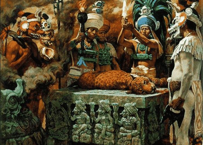 Rituales de la mitología maya