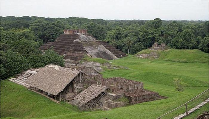 Ruinas de la mitología Olmeca