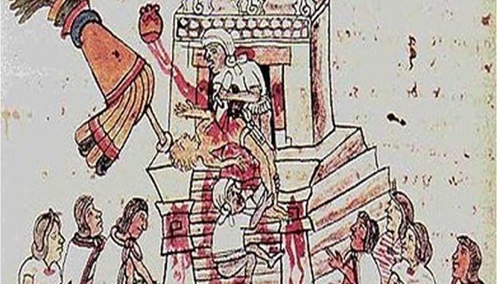 Sacrificios humanos en la mitología Olmeca