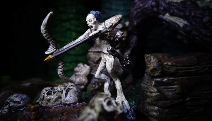 Baykok, ser maligno de la muerte, mitología Canadiense