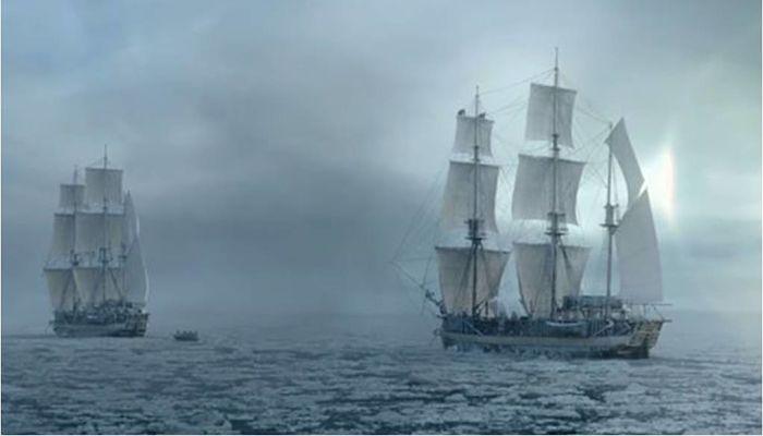 Navío blanco de la mitología de Estonia