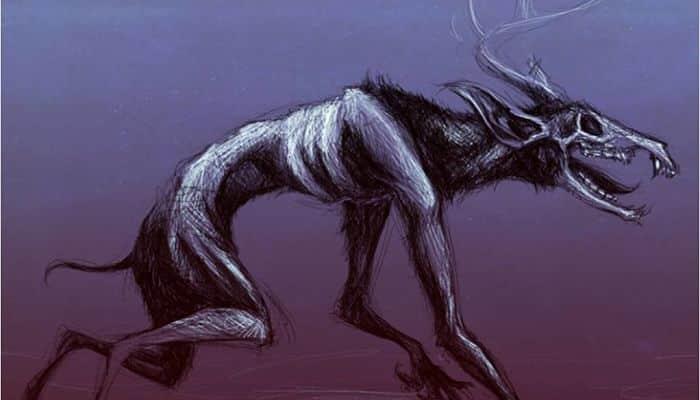 Wendigo, criatura caníbal de la mitología Canadiense