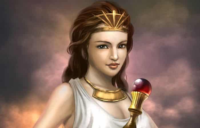 Mitología griega diosa