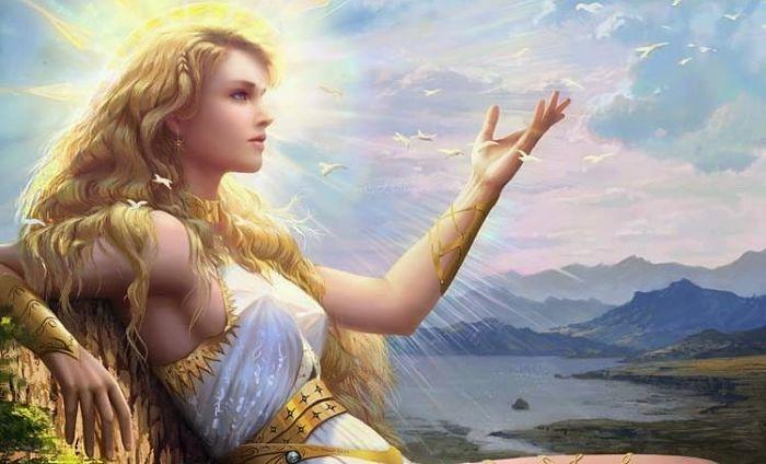 Afrodita diosa de la belleza