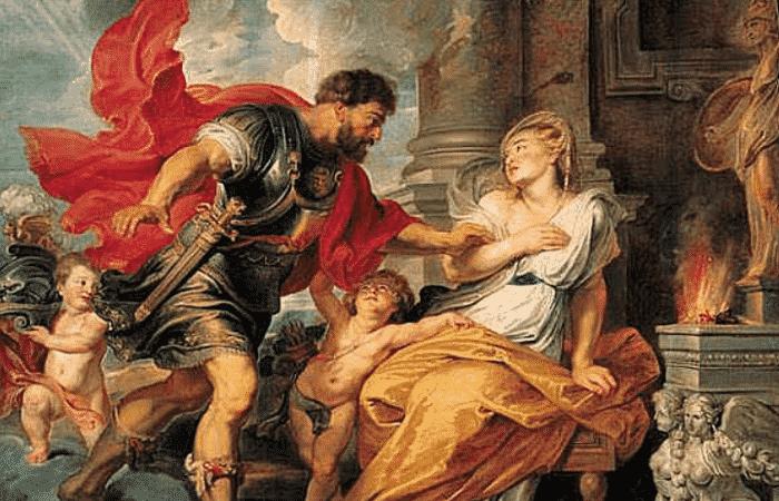 Ares y Afrodita
