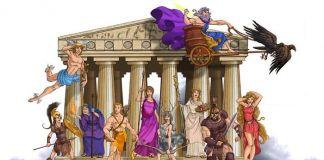 Nombres de la mitología griega