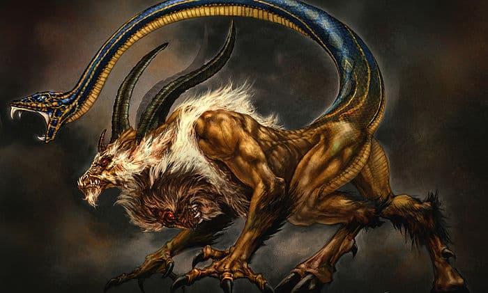Criatura de la mitología griega