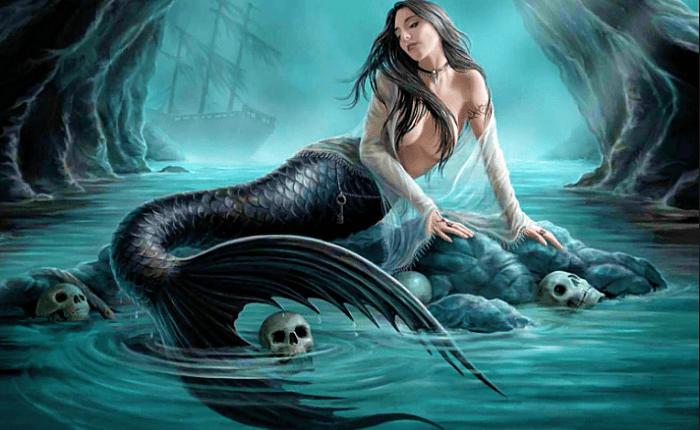 Sirena de la mitologia griega