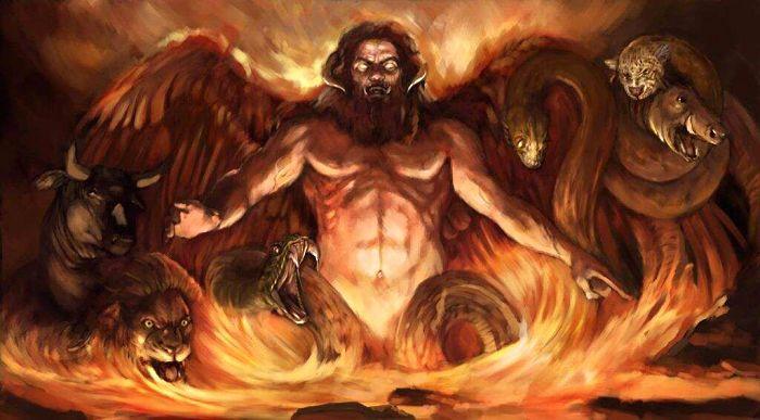 Tifón de la mitologia griega