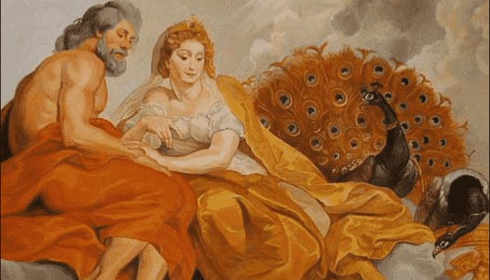 Zeus y Hera