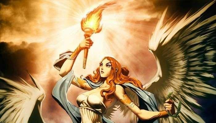 nike la diosa de la victoria