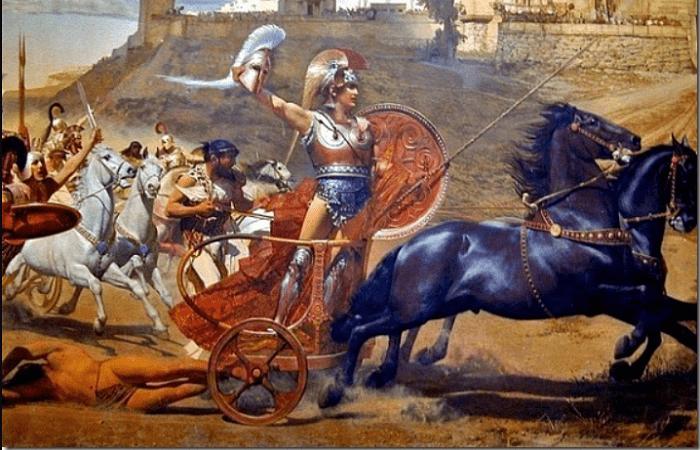 Aquiles: El Héroe De La Guerra De Troya En La Mitología Griega