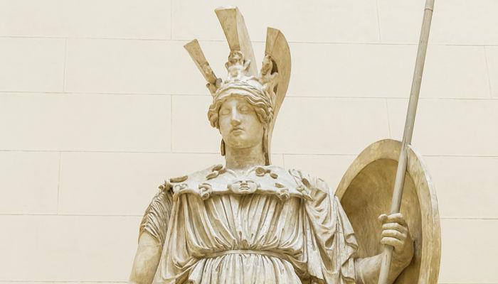 Atenea Diosa de la sabiduría