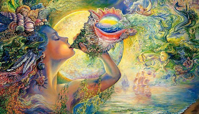 Gaia diosa de la tierra de la mitología griega