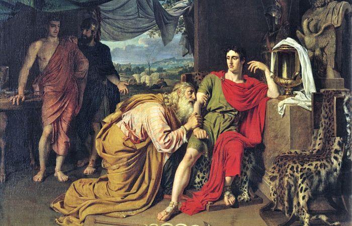 Héctor héroes de la mitología griega