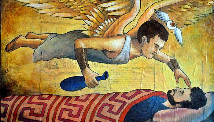 Hipnos dios del sueño