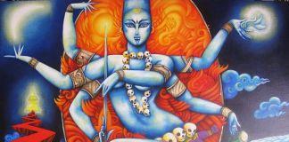 Kali Diosa de la muerte