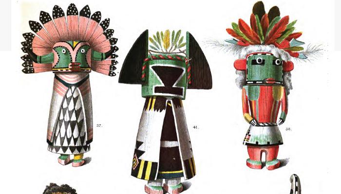 Muñecos Kachina de la Mitología Hopi