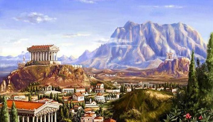 Monte de los dioses del olimpo