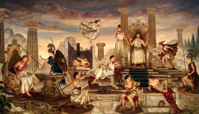 Monte olimpo dioses de la mitología griega