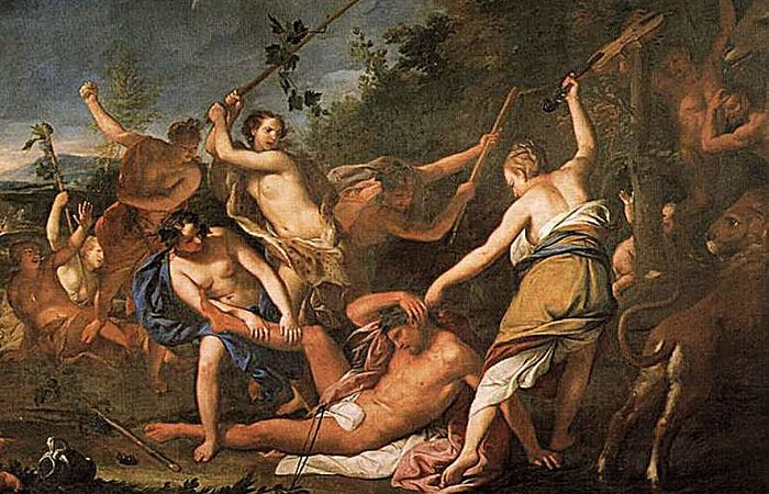 Muerte de Orfeo