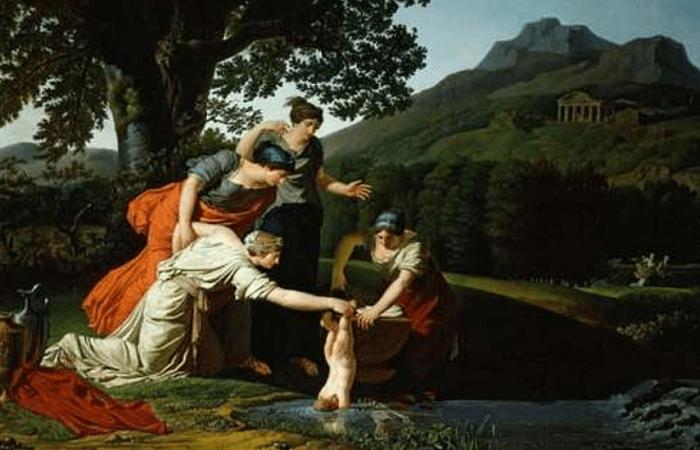 Nacimiento de Aquiles