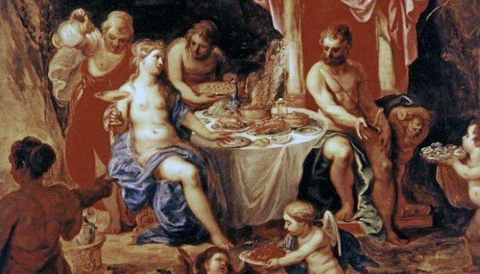 Odisea y calipso