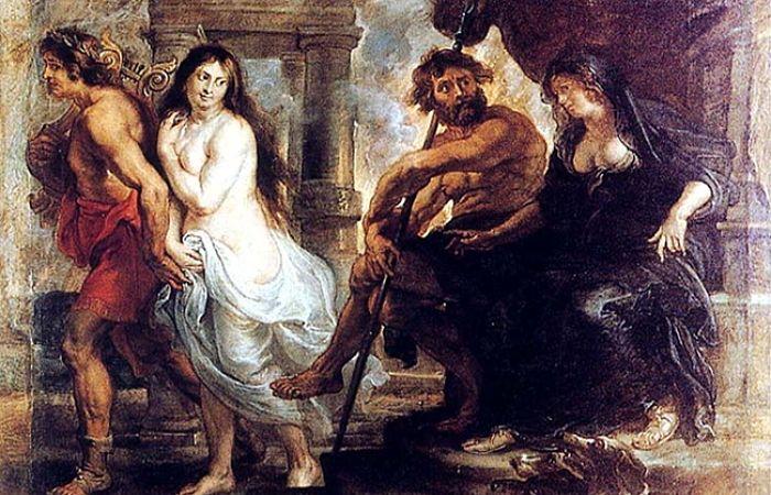 Orfeo mitología griega