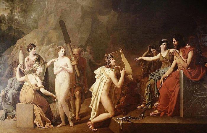 Orfeo héroes de la mitología griega