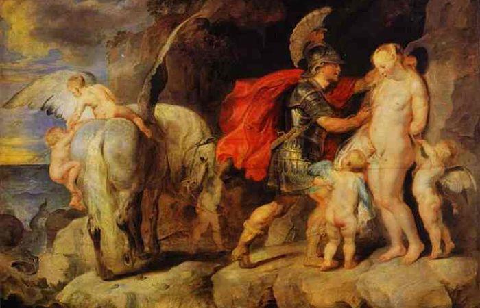 Perseo rescatando a Adrémeda