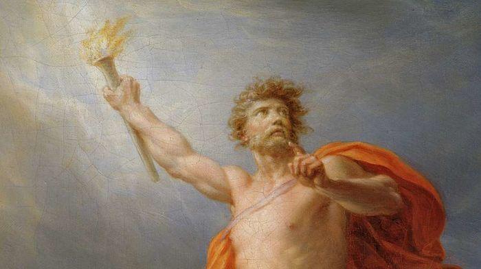 Prometeo el dios del fuego