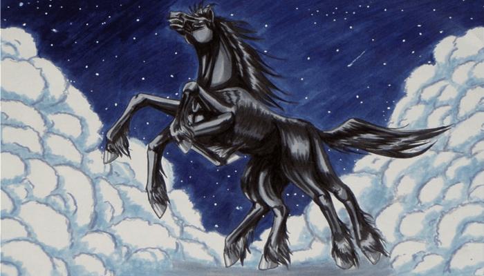 Caballos de la Mitología Nórdica