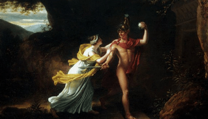 Teseo y Aridna