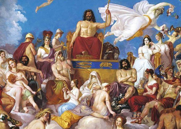 Titanes de la mitología griega