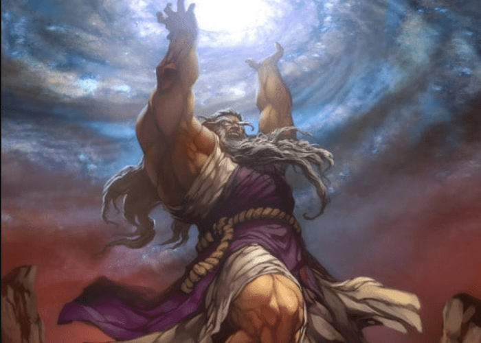 Dios del cielo urano