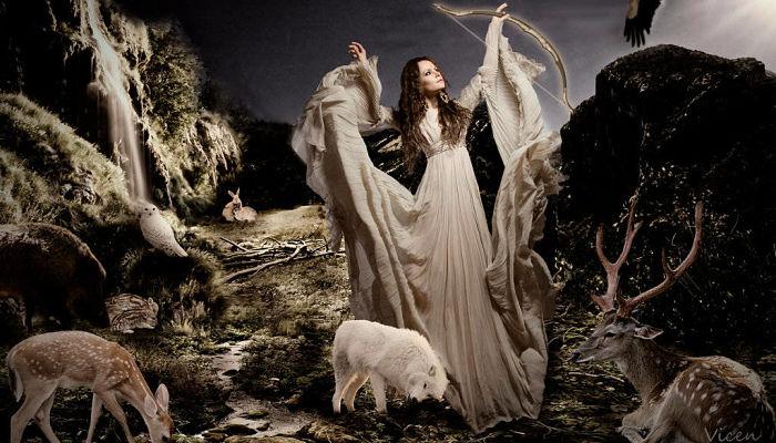 Artemisa la diosa de la caza