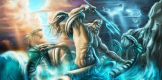Dioses del mar de la mitología griega